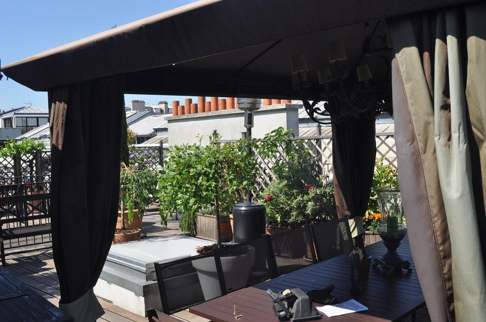 Paris XVIéme Appartement terrasse 4 pièces de 86 m²