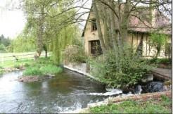 Ancien moulin de 242m² sur 7 ha, dont 5 d'herbage, piscine, dépendances…..